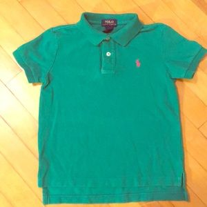Polo Collared Shirt, Youth Size 6